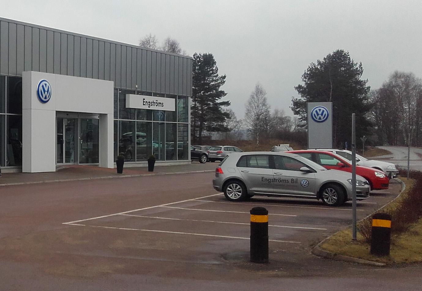 Engströms bil i Vimmerby