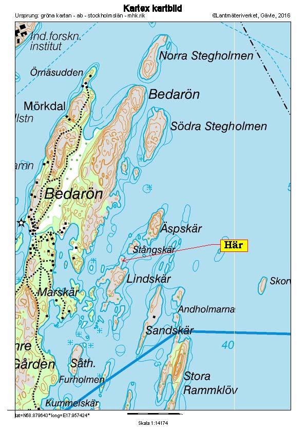 Karta Lindskär