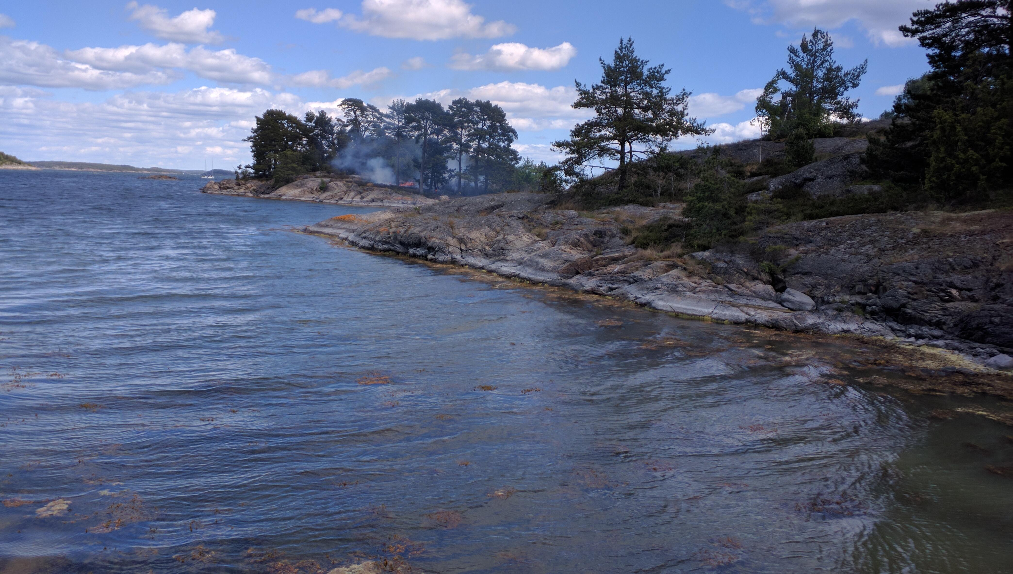 Markbranden på Lindskär