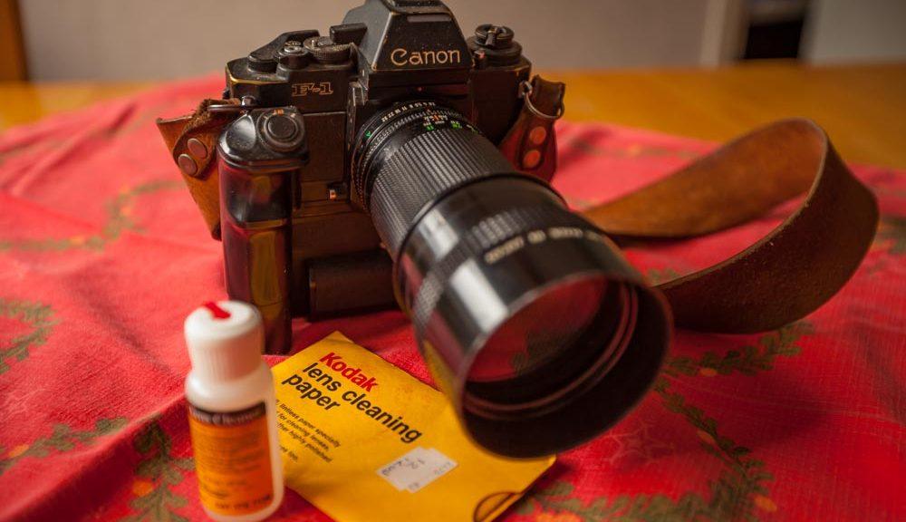 Foto Canon F1New