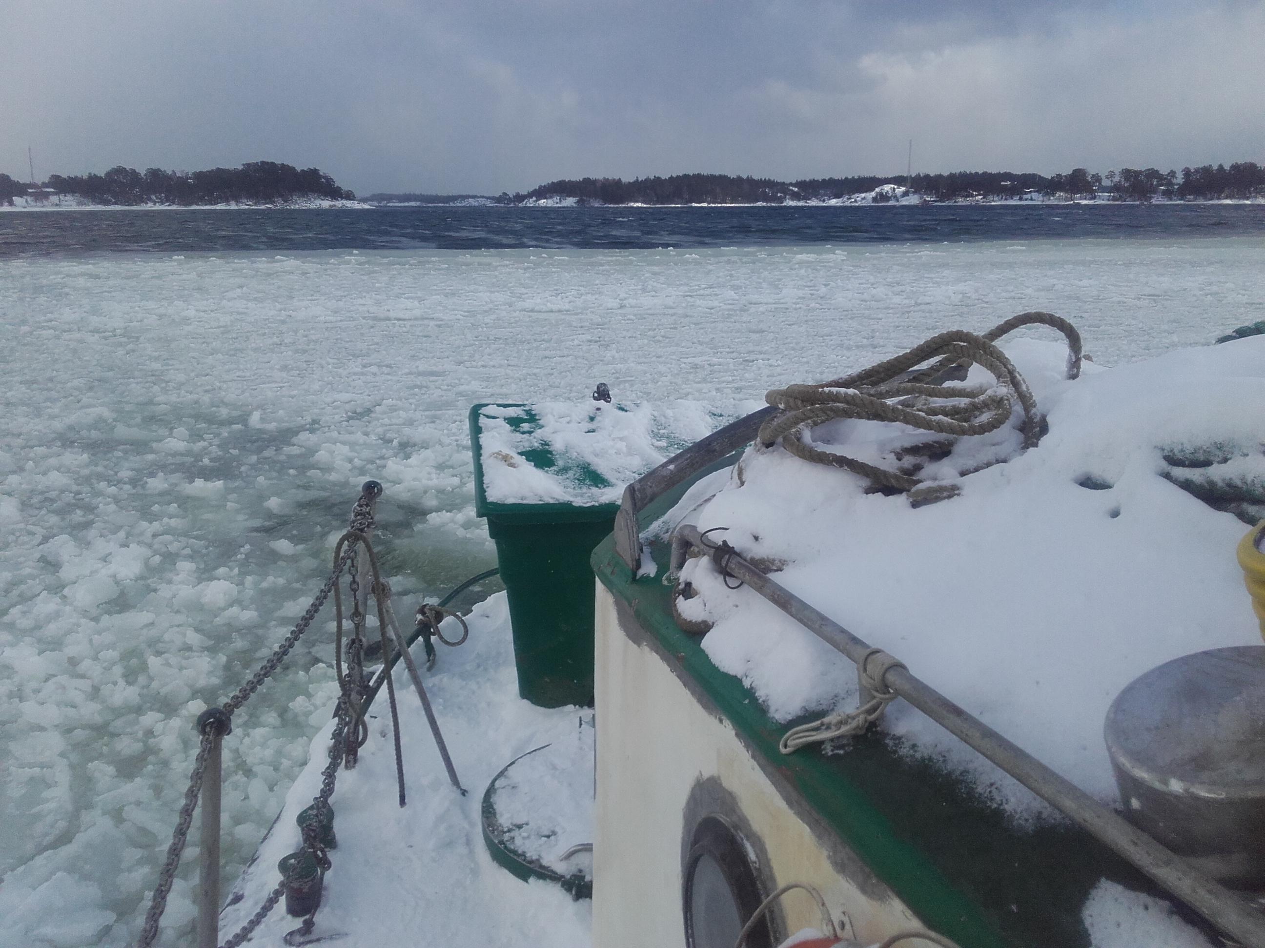 In i issörjan igen